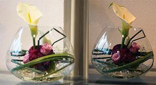 florale-Tischdekorationen-hochzeit